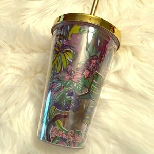 NWOT Lilly Pulitzer mermaid cup